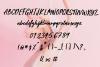 Beauty Rush Font Set example image 9