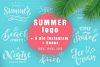 Summer logo set Bonus example image 1