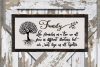 Family Tree - Long Version//SVG//EPS//DXF example image 2