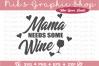 Wine SVG, Wine Bundle SVG, Mom SVG, Wine Bottle Svg, Wine example image 7