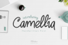 Camellia Handwritten Font example image 1