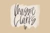 Hamor Island - Handwritten Script Font with Extras example image 14