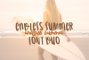 Endless Summer Font Duo example image 1