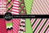 Sweet Summer Melon Clipart Graphics & Digital Paper Patterns Bundle example image 2