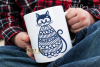 Cat paper cut design. SVG / DXF / EPS / PNG files example image 3
