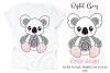 Koala SVG / PNG / EPS / DXF Files example image 1