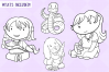 Kids With Pets Digital Stamps example image 2
