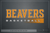 Beaver, Basketball, Sport, Team, Logo, PRINT, CUT, DESIGN example image 5