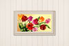 Horizontal Frame Mockup, Photoshop Smart Object, PSD example image 5