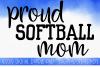 Softball Mom SVG, Sports SVG example image 1