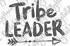 Tribe Leader Family Sign Parenting Print & Cut PNG SVG File example image 5