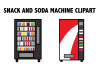 Snack and Soda Machine Clipart example image 1