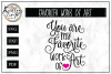 Mother's Day Quote SVG Cut File example image 1