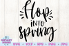 Hop into Spring SVG example image 2