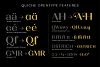 Quiche Font Family example image 16