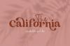 The California - A Serif/Script Handwritten Font Duo example image 1