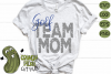Golf Mom & Bonus Team Mom Sports SVG Cut File example image 3