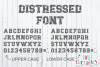 Distressed Font, Grunge Font example image 1
