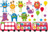 Monster clipart, Monster graphics & illustrations example image 2
