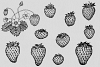 Strawberry Illustrations example image 3