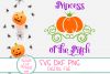 Princess Of The Patch SVG, Pumpkin Princess, Carriage, Crown example image 3