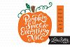 Pumpkin Spice and Everything Nice SVG example image 1