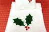 Holly Applique Embroidery Design example image 2