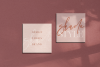 Magic Winter - A Serif/Script Handwritten Font Duo example image 2
