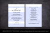 Wedding Itinerary Card, Welcome Note, Printable Wedding example image 3