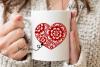 Heart, Valentines / love design example image 7