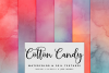 Cotton Candy Watercolor Textures | 6 Pack example image 1