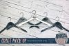 Bridal hangers Craft mock up |High Resolution JPEG example image 1