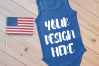 4th July Singlet Baby Bodysuit Mockups - 7 example image 7