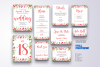 Flower Wedding Invitation Suite Vol.7 / Save Date / Bride example image 2