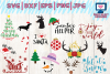 christmas bundle svg, dxf, png, jpg, eps example image 3