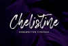 Chelistine - Beauty Handwritten - example image 1