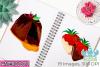 Dessert Watercolor Clipart, Instant Download Vector Art example image 3