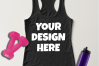 Ladies Tank Top Mockups - 20|Front/Back|PNG example image 3