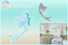 Mermaid Mandala Zentangle Svg Dxf Eps Png Pdf Files example image 1