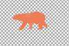 Baby and mama bear nursery clip art collection, bears print example image 9