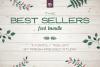 Fresh Pressed Fonts - Best Sellers Bundle example image 1