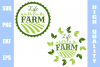 Life Is Better On The Farm SVG example image 1