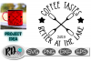 Coffee Tastes Better at the Lake - A Camping Cut File example image 1