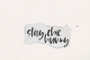 Island Tea - A Handwritten Brush Font example image 13