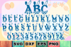 Bunny Hop - Cute Easter Alphabet with A-Z Letters & Numbers example image 1