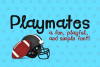 Playmates Font example image 1
