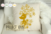 Christmas Reindeer paper cut SVG DXF EPS files example image 4