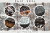 140 STEAMPUNK GRUNGE TEXTURES overlays background digital example image 2