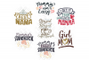 Mothers Day SVG Bundle Quotes in SVG, DXF, PNG, EPS, JPEG example image 2