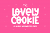 Lovely Cookie - A Fun Handwritten Font example image 1